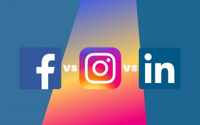 Facebook vs Instagram vs LinkedIn