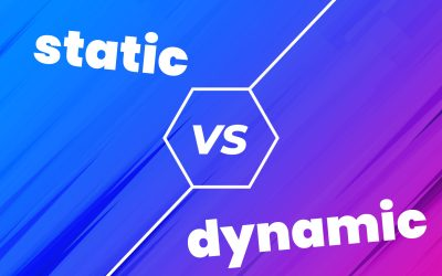 Static or Dynamic Websites. Which should you choose?